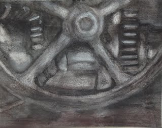 AI Industrial Museum handwheel