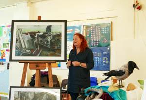 Dorothy Simister Charrcoal Workshop Dec 2017 N-1