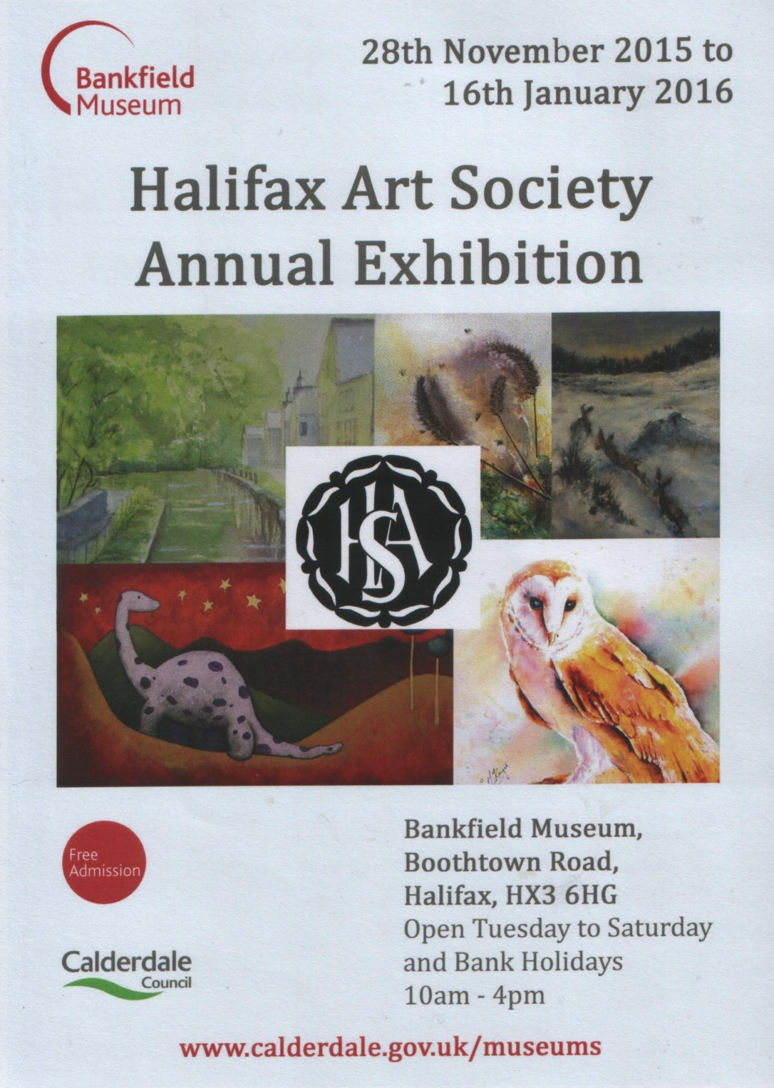 HAS Annual Exhibition 2015