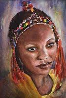 Ayesha (Watercolour)