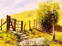The Pennine Way (Watercolour)
